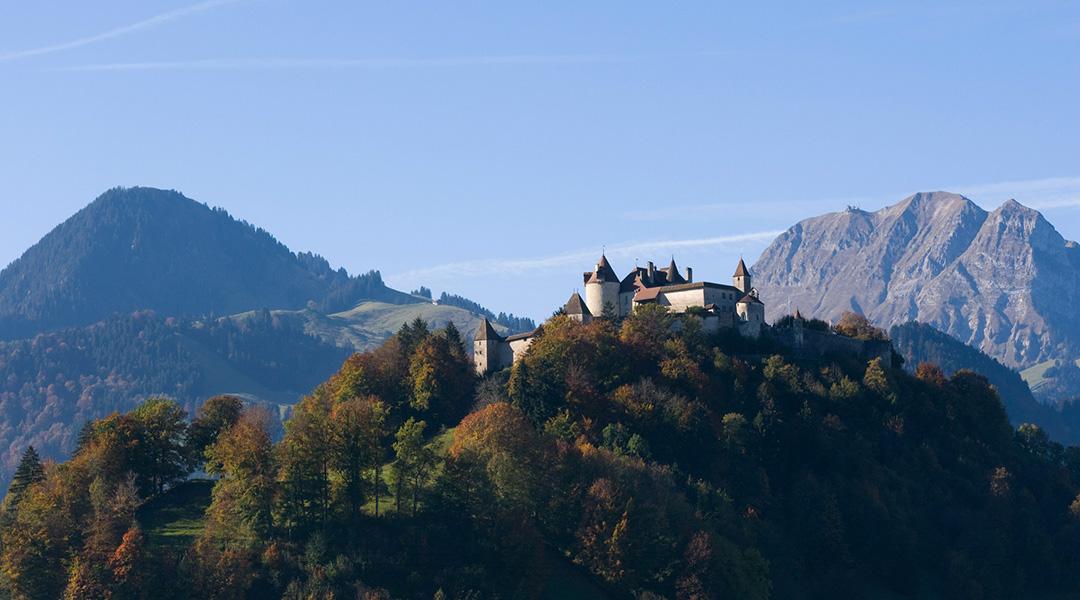 Schlosses Greyerz